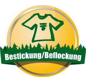 button bestickung